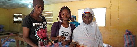 Starke Frauen im Kakaoanbau