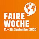 """Fair statt mehr"" – die Faire Woche 2020!"