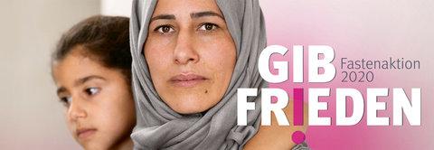 Fastenaktion für Menschen in Syrien und im Libanon