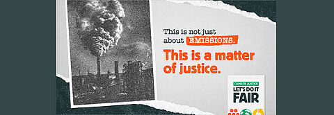 CLIMATE JUSTICE - LET'S DO IT FAIR