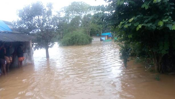 Die Wassermassen haben auch bei IOFPCL schlimme Schäden angerichtet. Foto: IOFPCL