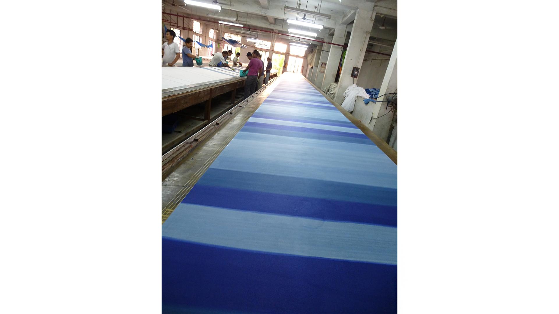 Durch die regelmäßigen Aufträge von Fair Trade-Organisationen wie der GEPA konnte EMA einen eigenen Betrieb in Baruipur aufbauen.