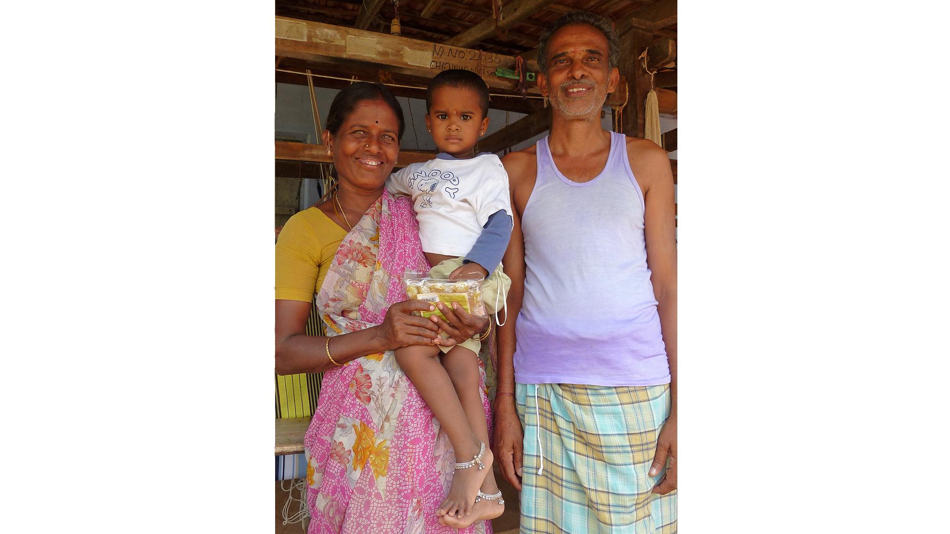Umfangreiche Sozialleistungen sind in Indien nicht selbstverständlich: Die Mitglieder von CO-OPTEX dagegen erhalten z. B. Kranken- und Rentenversicherung.