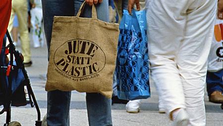 - Vor 40 Jahren kam die Jutetasche auf den Markt