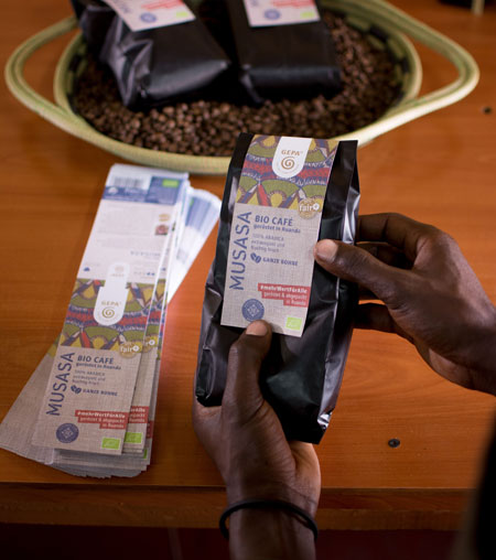 - Einladung zur GEPA-Jahrespressekonferenz/ Fototermin neuer Röstkaffee Ursprung/Ruanda