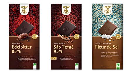 - ISM 2017: Zehn Prozent mehr Absatz für GEPA-Schokoladentafeln