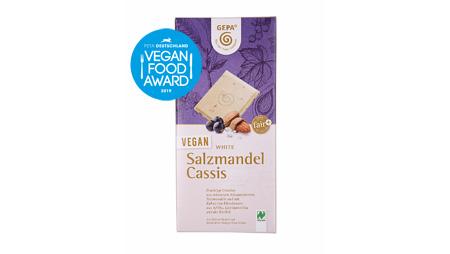 "PETA verleiht GEPA ""Vegan Food Award"" für ""Beste weiße Schokolade"""