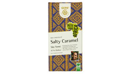 """- GEPA-Schokolade """"Salty Caramel"""" als """"Bestes Bio"""" ausgezeichnet"""