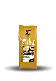 GEPA Kaffee Faires Pfund