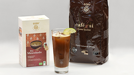 INTERNORGA: Selbstgemachte Limonaden vom Fair Trade-Pionier GEPA