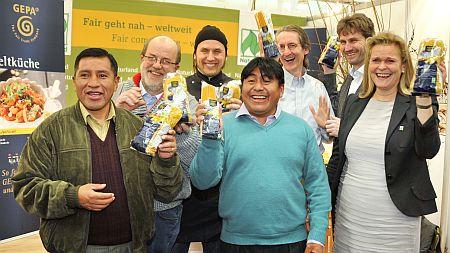 - BIOFACH 2014: Neue GEPA-Pasta – 100 Prozent fair