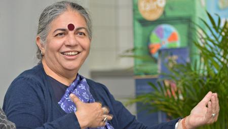 - #G20: Alternative Nobelpreisträgerin Vandana Shiva  zum Polit-Talk bei der GEPA