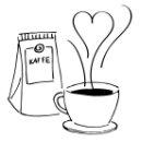 Symbol Kaffeeduft Icon